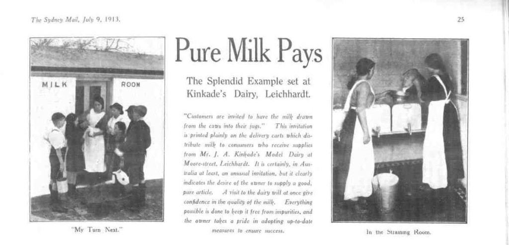 Pure Milk Pays